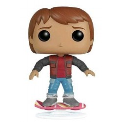 MARTY MCFLY ON HOVERBOARD POP! MOVIES VINYL FIGURE