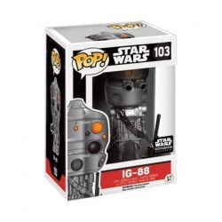 IG-88 EXCLSUIVE STAR WARS POP! VYNIL FIGURE