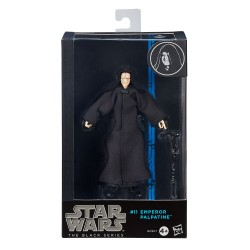 EMPEROR PALPATINE STAR WARS THE BLACK SERIES 6 INCH ACTION FIGURE