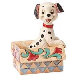LUCKY DALMATIENS DISNEY TRADITIONS STATUE