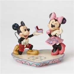 A MAGICAL MOMENT MICKEY AND MINNIE DISNEY TRADITIONS STATUE