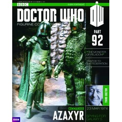 AZAXYR DOCTOR WHO COLECTION NUMERO 92