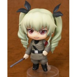 ANCHOVY GIRLS UND PANZER NENDOROID PETIT VYNIL FIGURE