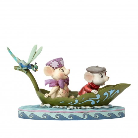 BERNARD AND BIANCA TO THE RESCUE RESIN STATUE