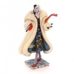 CRUELLA DEVELISH DOGNAPPER RESIN STATUE