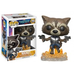 ROCKET RACCOON BOBBLE HEAD GUARDIANS OF THE GALAXY VOL 2 MARVEL POP! VYNIL FIGURE
