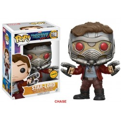 STAR LORD BOBBLE HEAD CHASE VERSION GUARDIANS OF THE GALAXY VOL 2 MARVEL POP! VYNIL FIGURE