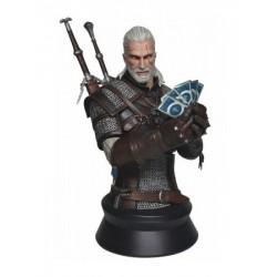 GERALT PLAYING GWENT THE WITCHER WILD HUNT RESIN BUST