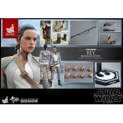 REY RESISTANCE OUTFIT STAR WARS THE FORCE AWAKENS ACTION FIGURE