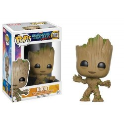 GROOT BOBBLE HEAD GUARDIANS OF THE GALAXY VOL 2 MARVEL POP! VYNIL FIGURE