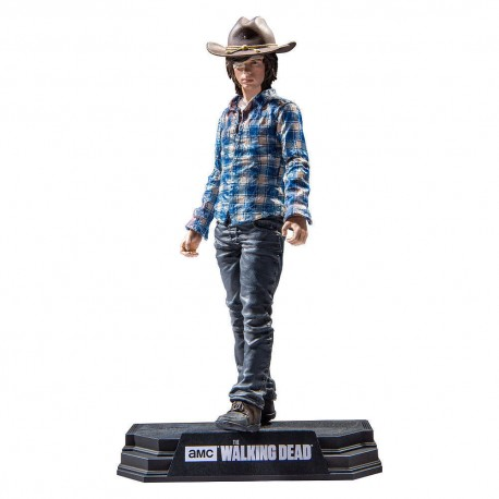 CARL GRIMES THE WALKING DEAD COLOR TOPS 7INCH FIGURE