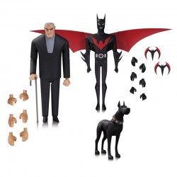BATMAND AND BRUCE WAYNE BATMAN BEYOND 2 PACK ACTION FIGURE
