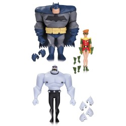 BATMAN ROBIN AND MUTANT LEADER DC THE NEW BATMAN ADVENTURES ACTION FIGURE