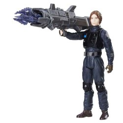 JYN ERSO IMPERIAL DISGUISE STAR WARS ROGUE ONE 3.75 ACTION FIGURE
