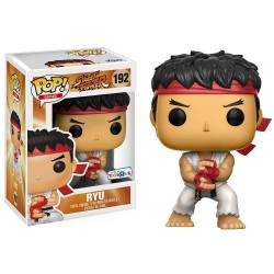 RYU SPECIAL ATTACK STREET FIGHTER POP! GAMES VYNIL FIGURE