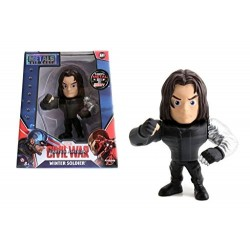 WINTER SOLDIER CAPTAIN AMERICA CIVIL WAR METAL DIE CAST FIGURE
