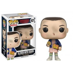 ELEVEN WITH EGGOS STRANGER THINGS POP! TELEVISION VYNIL FIGURE