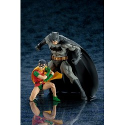 BATMAN AND ROBIN DC COMICS ART FX 2 PACK FIGURE