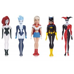 GIRL'S NIGHT OUT DC THE NEW BATMAN ADVENTURES 5 PACK ACTION FIGURE