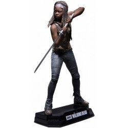 MICHONNE THE WALKING DEAD COLOR TOPS 7INCH FIGURE