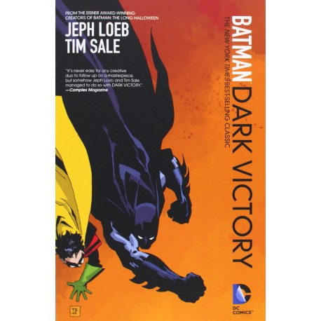 BATMAN DARK VICTORY NEW ED