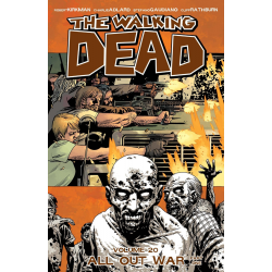 WALKING DEAD VOL.20 ALL OUT WAR PART ONE