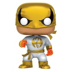 IRON FIST GOLD OUTFIT POP! MARVEL VYNIL FIGURE