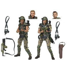 ALIENS DWAYNE HICKS & WILLIAM HUDSON ACTION FIGURE 2 PACK