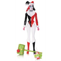 HOLIDAY HARLEY QUINN DC COMICS DESIGNER SERIES CONNER ACTION FIGURE