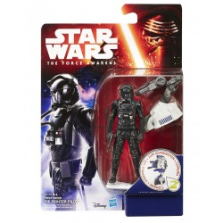 STAR WARS THE FORCE AWAKENS - FIRST ORDER TIE FIGHTER PILOT - JUNGLE SPACE WAVE 1 ACTION FIGURE