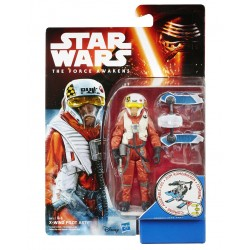 X-WING PILOT ASTY STAR WARS THE FORCE AWAKENS SNOW DESERT WAVE 2 ACTION FIGURE