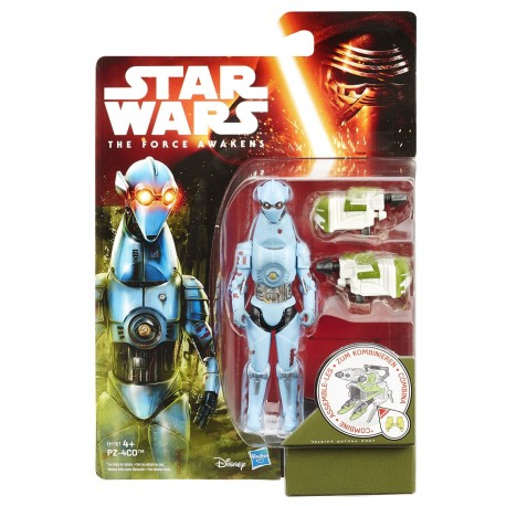 STAR WARS JUNGLE SPACE WAVE 2 THE FORCE AWAKENS - PZ 4CO - ACTION FIGURE