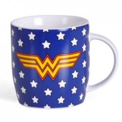 WONDER WOMAN STARS DC COMICS MUG