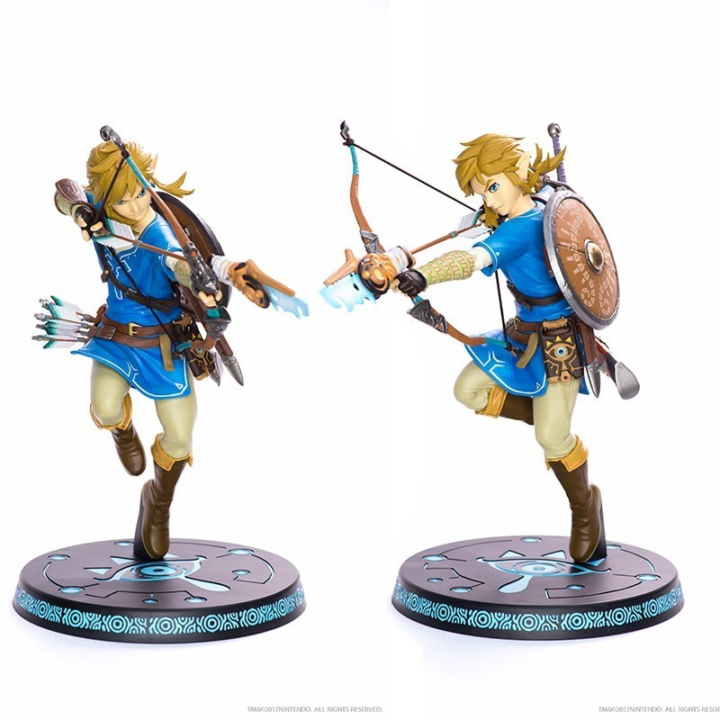 link-legend-of-zelda-breath-of-the-wild-statue