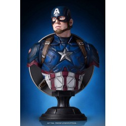 CAPTAIN AMERICA CIVIL WAR MARVEL CLASSIC RESIN BUST