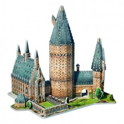 HOGWARTS GREAT HALL HARRY POTTER WREBBIT 3D PUZZLE