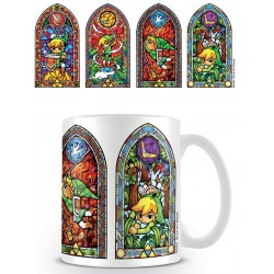 STAINED GLASS LINK THE LEGEND OF ZELDA BOXED MUG