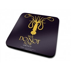 GREYJOY HOUSE GAMES OF THRONES COASTER
