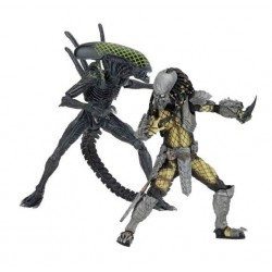 GRID VS CELTIC RIVALRY REBORN ALIEN VS PREDATOR 2 PACK ACTION FIGURE