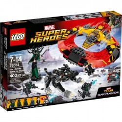 THE ULTIMATE BATTLE FOR ASGARD THOR RAGNAROK MARVEL LEGO 76088