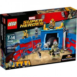 THOR VS HULK THE ARENA CLASH THOR RAGNAROK MARVEL LEGO 76088