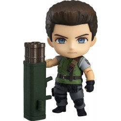 CHRIS REDFIELD RESIDENT EVIL 20TH ANNIVERSARY EDITION NENDOROID ACTION FIGURE