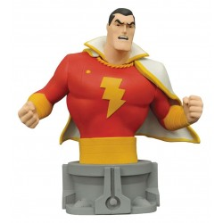 SHAZAM DC JUSTICE LEAGUE UNLIMITED RESIN BUST