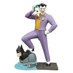 THE JOKER LAUGHING FISH BATMAN ANIMATED DC GALLERY PVC STATUE