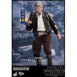 HAN SOLO STAR WARS THE FORCE AWAKENS 1:6 MOVIE MASTERPIECE FIGURE