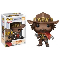 MCCREE OVERWATCH POP! GAMES VYNIL FIGURE