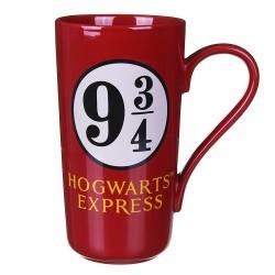 HOGWARTS EXPRESS PLATFORM 9 3/4 HARRY POTTER LATTE MUG