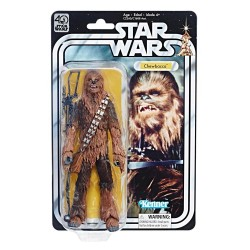 CHEWBACCA STAR WARS 40TH ANNIVERSARY THE BLACK SERIES WAVE 2 6 INCH ACTION FIGURE