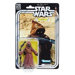 JAWA STAR WARS 40TH ANNIVERSARY THE BLACK SERIES WAVE 2 6 INCH ACTION FIGURE