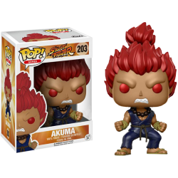 AKUMA STREET FIGHTER POP! GAMES VYNIL FIGURE